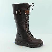 Черные зимние сапоги подросток Bi&Ki размер 33,35