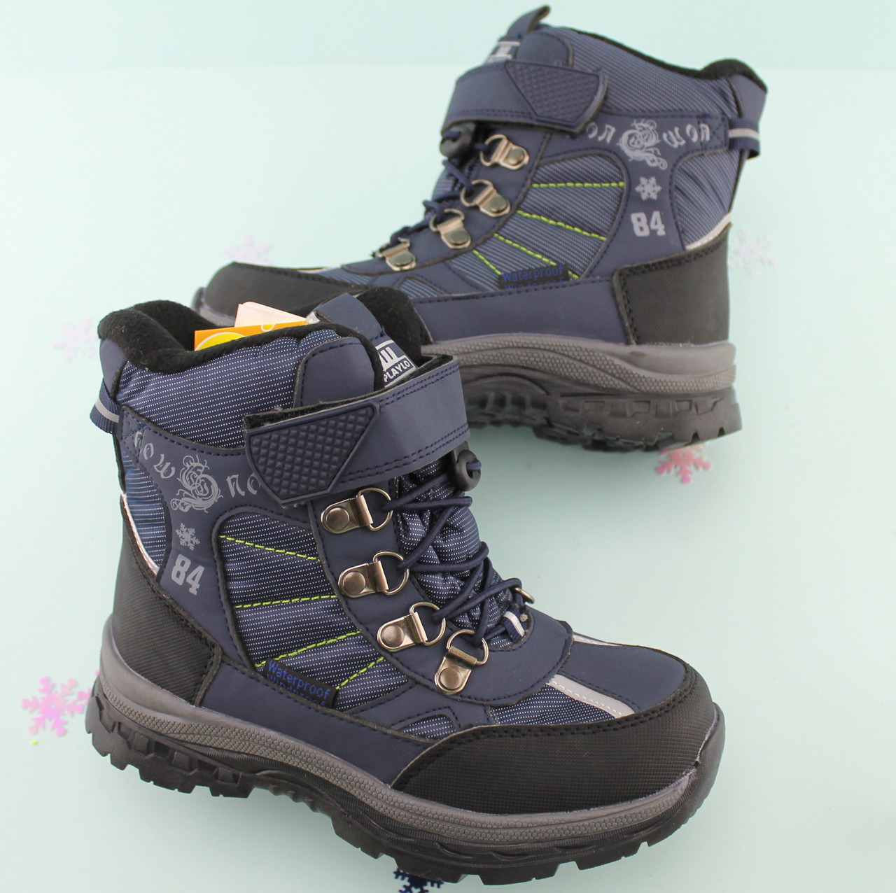 9e85e756a Термосапоги детские на мальчика зимняя обувь Том.м размер 32,37 - BonKids -