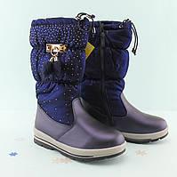 Синие зимние сапоги подростковые на девочку Том.м размер 33,35,36,37,38