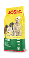 Сухой корм Josera JosiDog Solido (21\8) для менее активных старших собак, а также склонным к набору веса, 18кг