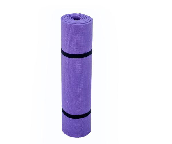 Каремат для фитнеса и йоги, фиолетовый, т. 8 мм, размер 60х180 см, производитель Украина, TERMOIZOL®