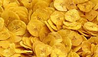Сушеные банановые чипсы