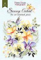"""Набор высечек """"Sunny Orchid"""" 49 шт."""