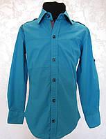 Подростковая рубашка для мальчиков 128,152 роста Тиффани