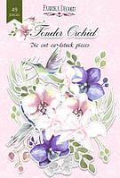 """Набор высечек """"Tender Orchid"""" 49 шт."""