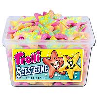 Жевательные конфеты Звезды Trolli Seesterne 75шт х 13гр, 975гр