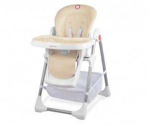Детский стульчик-шезлонг для кормления Lionelo Linn Plus с 5-ти точечными ремнями безопасности