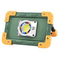 Фонарь-прожектор аккумуляторный W823-30W-COB, 4x18650, Power Bank , фото 1