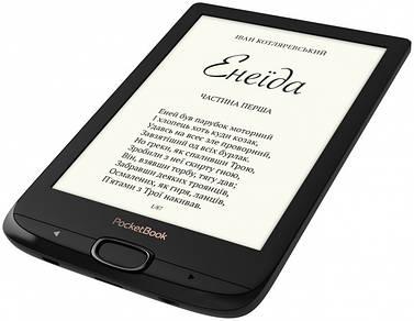 Электронная книга PocketBook 616 Подсветка Basic Lux 2  Obsidian Black