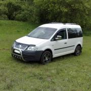 Защитная дуга (кенгурятник)  Volkswagen Caddy