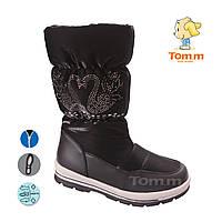 136722928 Дутики водонепроницаемая обувь для девочек подросток большие размеры 33-38  оптом