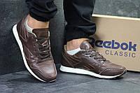 Мужские кроссовки в стиле Reebok светло коричневые