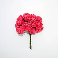 Роза латекс 15мм красная