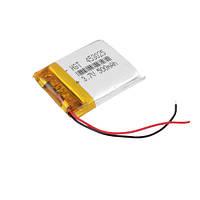 Литий полимерный аккумулятор 453025 500mAh 3.7V аккумулятор
