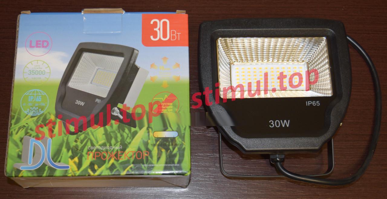 Прожектор светодиодный DL (LED) 30W 2400lm 3000K