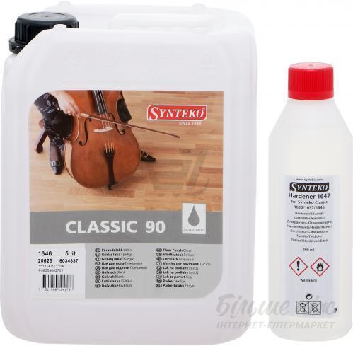Паркетный лак Synteco Classic 1646 (глянцевый) 15л