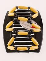 Заколка для густых волос African butterfly Beada 002 черная