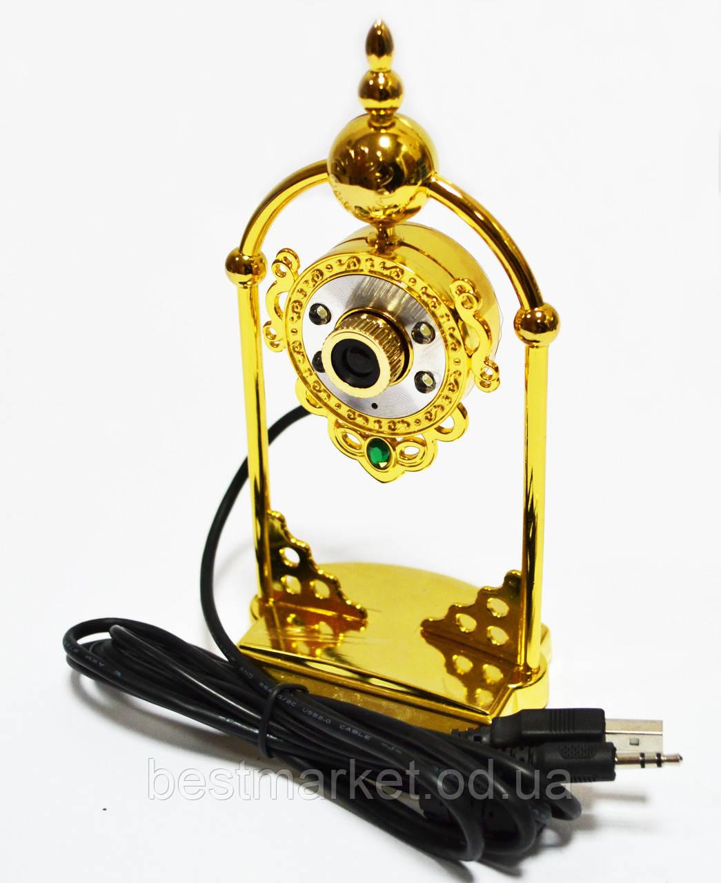 Веб-камера WC-HD (часы), оригинальная веб камера с микрофоном