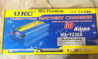 Устройство зарядное для аккумулятора 12 вольт 30 ампер UKC Battery Charger 30A, МА - 1230