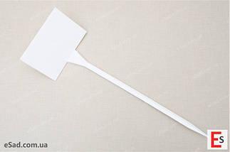 Табличка на ножке №6 белая, фото 3