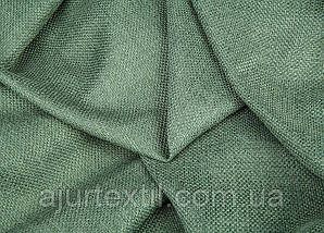 Штора лен зелень, фото 2