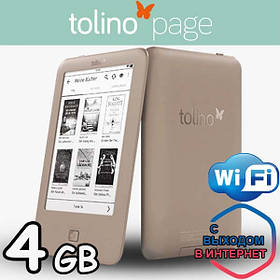 Электронная книга Tolino Page eReader 4GB wifi- ENGLISH