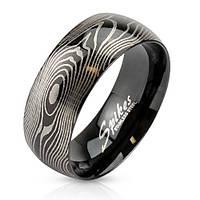 Кольцо отпечаток пальца нержавеющая сталь 316L Spikes (США)