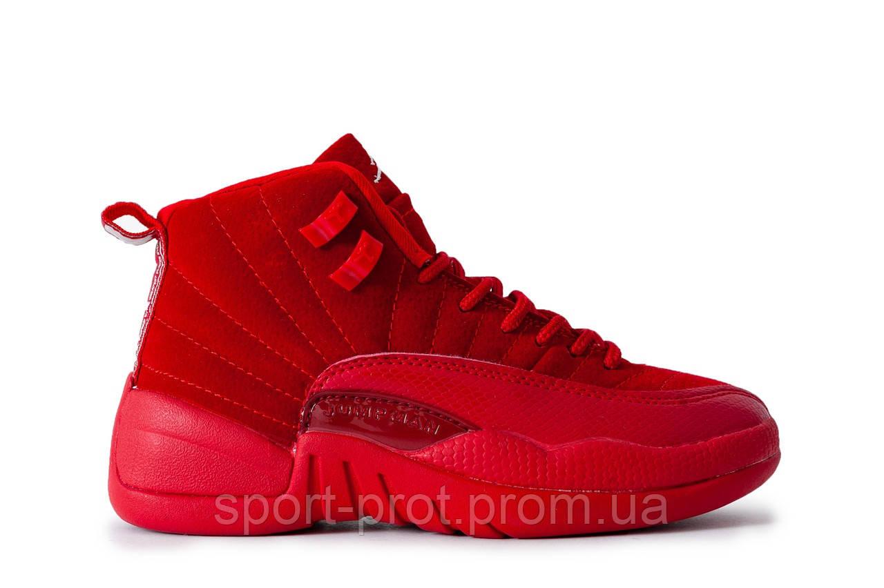 c3205300 Женские кроссовки в стиле Nike Air Jordan 12 (Топ качество) - Магазин  Спортивной Обуви