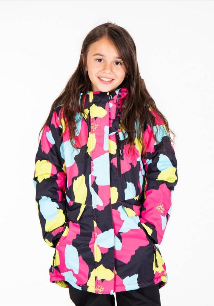 Зимняя горнолыжная куртка для девочки  Just play  Польша 104,110,116,122
