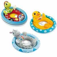 Детский надувной круг-плотик Животные Intex 59570 - 84 см