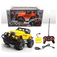 Машина Suvs игрушка вездеход джип, на радиоуправлении , резиновые колеса, на аккумуляторе, в коробке