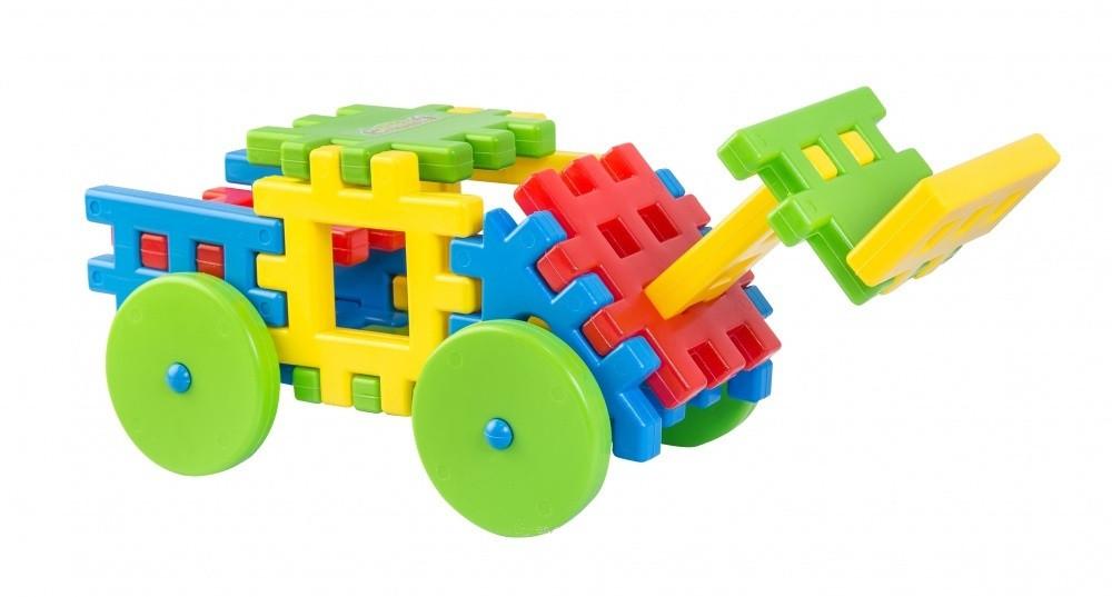 Іграшка конструктор Поєднайко 25 елементів від Тигрес (39178)