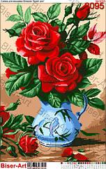 Схема для вышивки бисером 3095 Букет роз