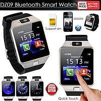 УЦЕНКА Умные Cмарт Часы Телефон DZ09 c камерой, с SIM-картой с microSD-картой, фото 1