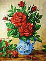 Схема для вышивки бисером 3095 Букет роз, фото 3