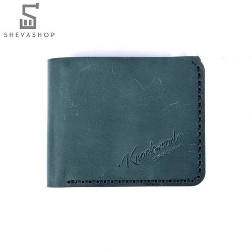 81149dd11dd4 Кожаное портмоне Knockwood Edmund зелёное