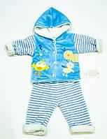 Махровый  костюмчик  для малыша на  рост 68.74  см