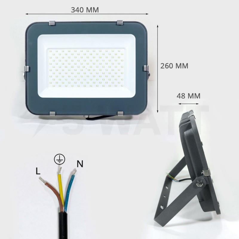 Прожектор светодиодный БИОМ 150W 10200lm 6500K (BIOM LED)