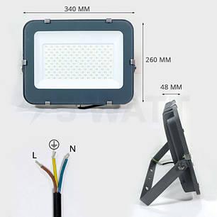 Прожектор светодиодный БИОМ 150W 10200lm 6500K (BIOM LED), фото 2