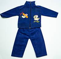 Флисовый костюмчик  для малыша на  рост 74  см, фото 1