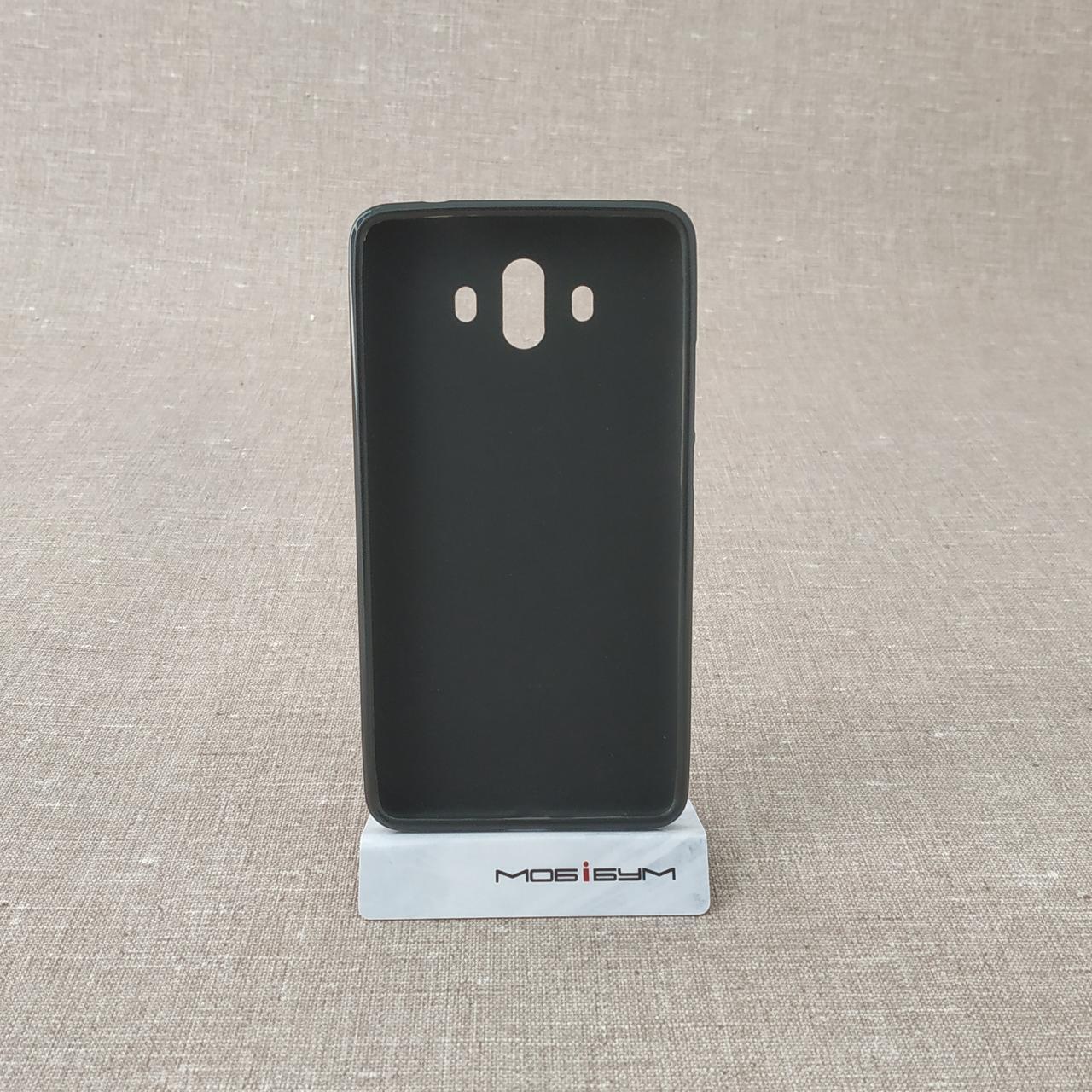 Чехлы для Huawei TPU Mate 10 black Для телефона