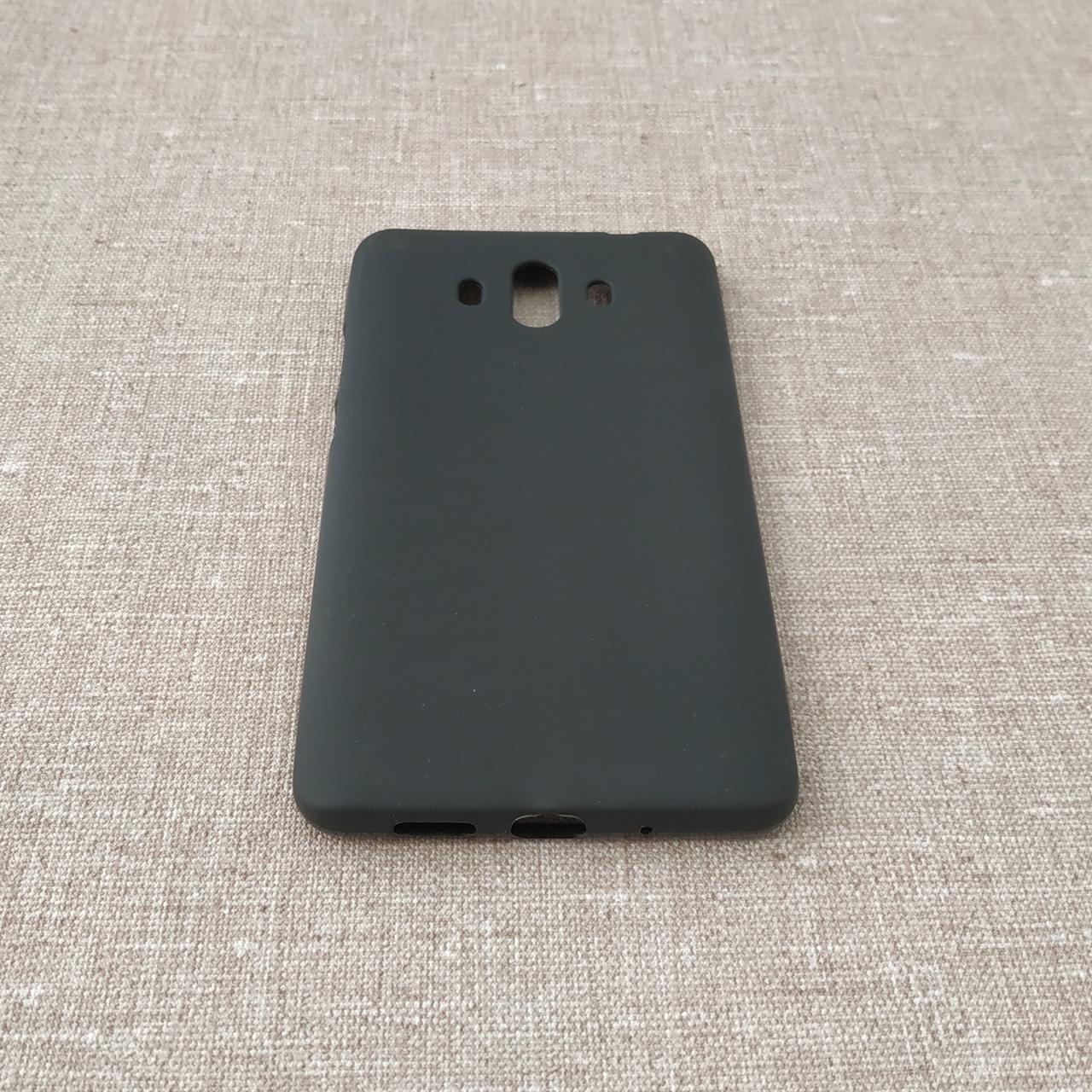 Чехлы для Huawei TPU Mate 10 black Для телефона Черный