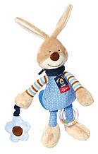 Мягкая игрушка sigikid 38676sk Заяц samuel bunny 27 см