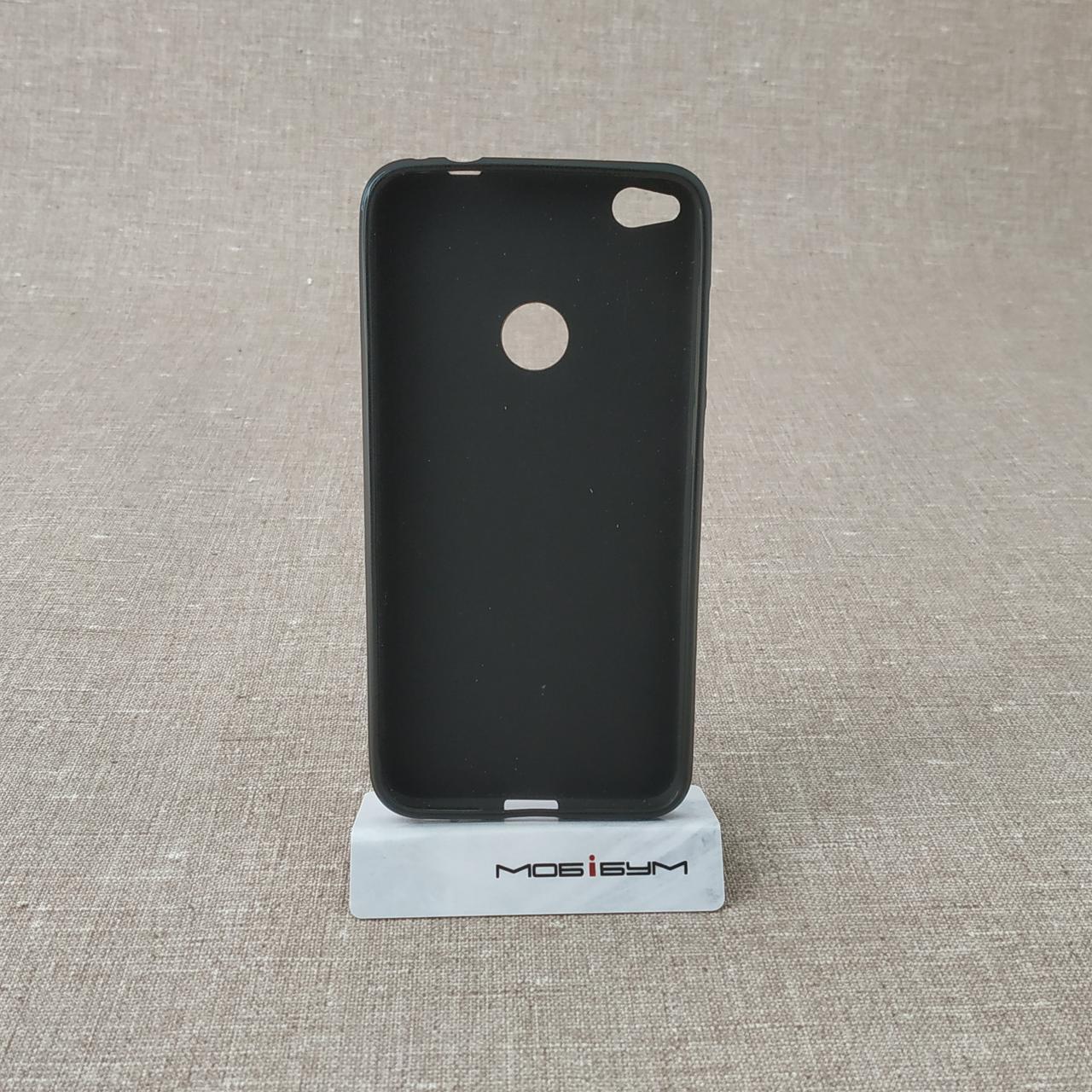 Чехол TPU Huawei P8 Lite 2017 black Для телефона