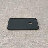 Чехол TPU Huawei P8 Lite 2017 black, фото 4