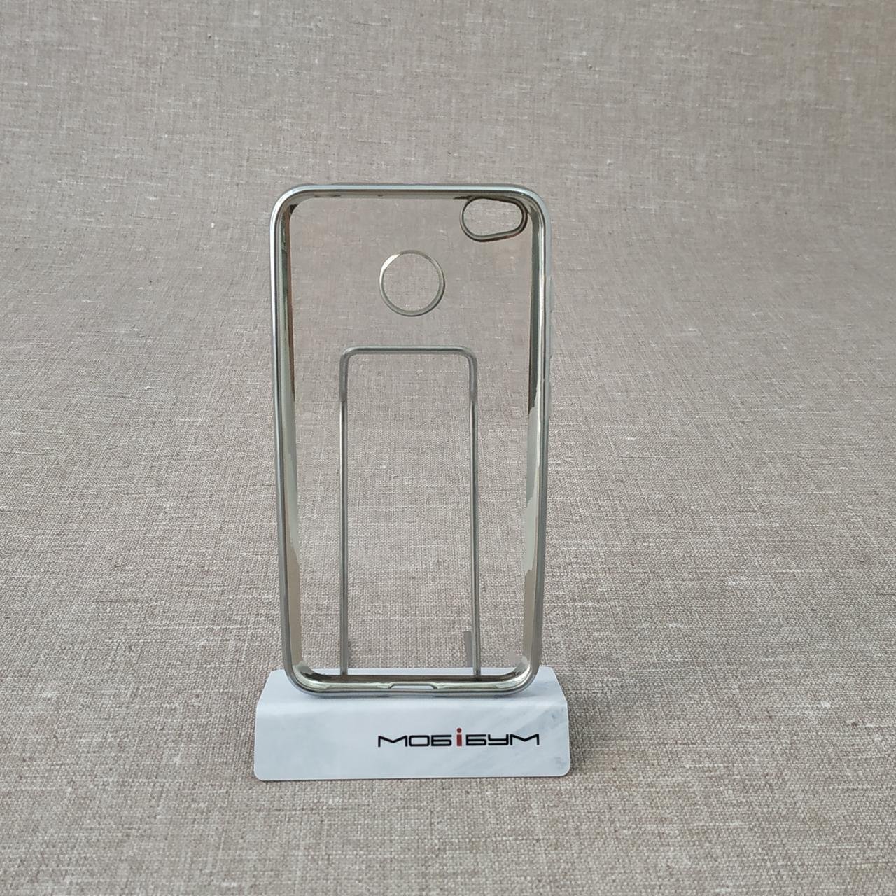 TPU bamper Xiaomi Redmi 4x silver 4X