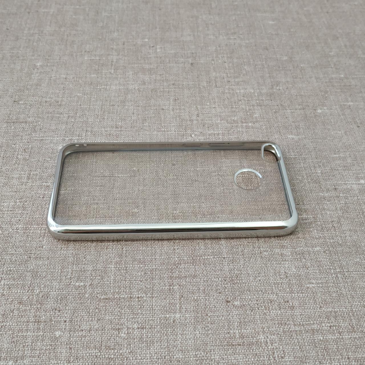 Чехол TPU bamper Xiaomi Redmi 4x silver