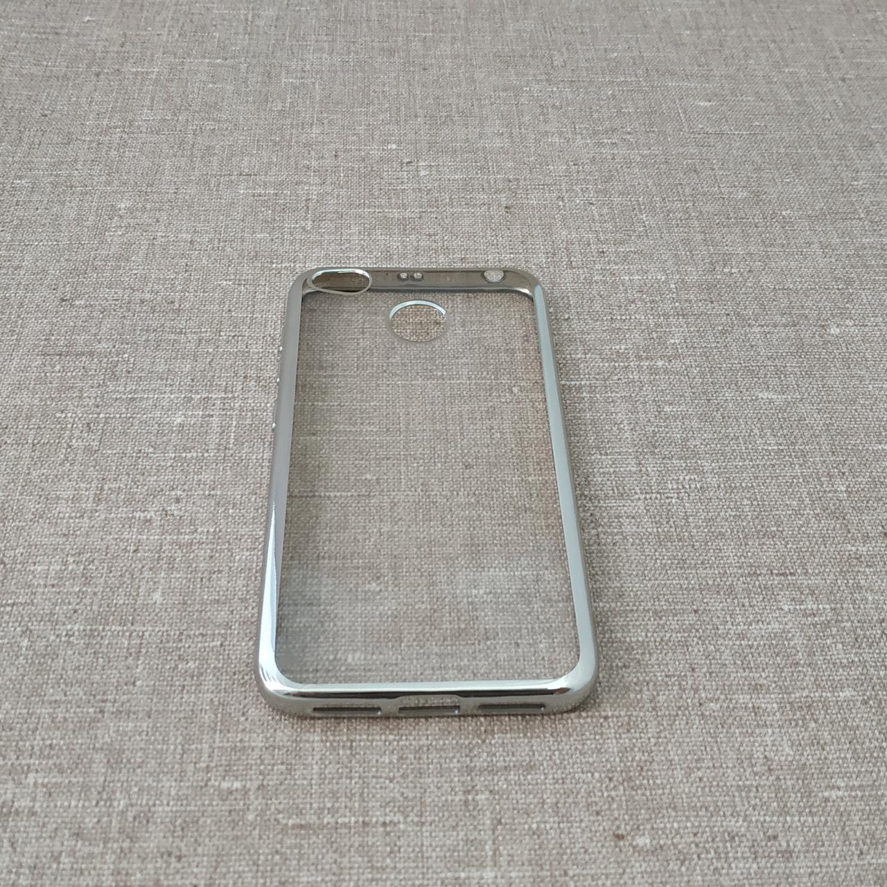 TPU bamper Xiaomi Redmi 4x silver 4X Для телефона