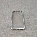 Чехол TPU bamper Xiaomi Redmi 4x silver, фото 3