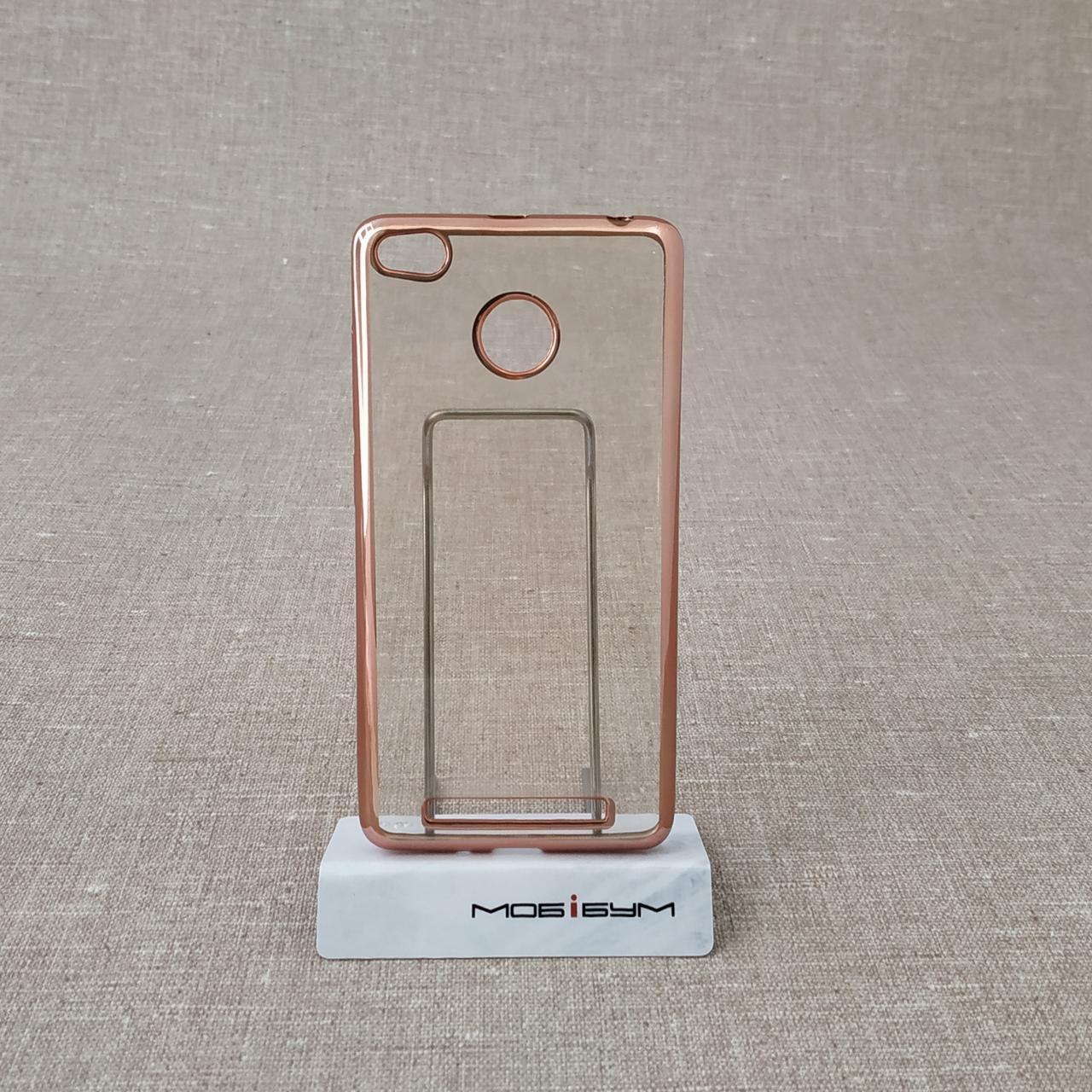 Чехол TPU bamper Xiaomi Redmi 3 Pro pink